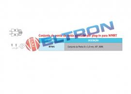 RTW4 Conjunto de Ponta de Solda ajustado por Plug-in para WMRT