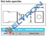 D10 Ponta de Solda Dois Lados Aquecidos para HAP1/HAP200