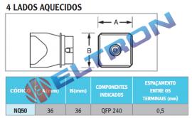 NQ50 Bocal 4 Lados Aquecidos para WHA900