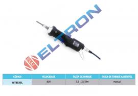 WTBS35L Parafusadeira Eletrica com Push Start para conexão com unidade de controle WTS A (Display Analógico) ou unidade de controle WTS D (Display Digital)