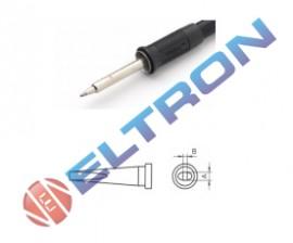 LTLBR Ponta Fenda Longa 2,0mm x 1,0mm x 21,0mm para Ferro de Solda WP / WSP80