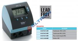 Unidade de força digital 160 W / 230 V para Ferro de solda WP 80 (80 W) e com Interface USB (opcional) weller