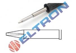 XTALBR Ponta Fenda 1,6mm x 1,0mm para Ferro de Solda WP120 / WXP120