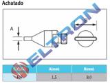 F02 Ponta de Solda Achatada para HAP1/HAP200