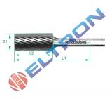 Lima rotativa forma cilíndrica forma A 65mm 20153N Nicholson
