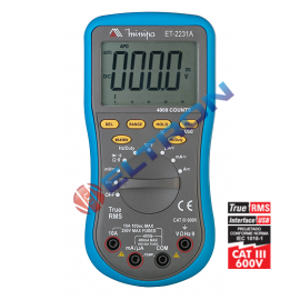 Multimetro Digital ET2231A Minipa
