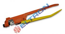 MT120 Alicate para compressão de terminais de elétrica de 10 a 120 mm²