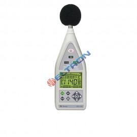 Decibelímetro com USB / Data Logger 37000 Registros / Ponderação A, C e Z - Temp.Resp. Rápida/Lenta/Impulso MSL1360 MINIPA