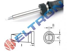 LTC32 Ponta Fenda 3,2mm x 0,8mm x 13,5mm para Ferro de Solda WP / WSP80