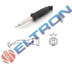 LT1SLXBR Ponta Redonda Fina Curva 30º ø 2,0mm x 0,4mm  x 20,5mm para  Ferro de Solda WP / WSP80