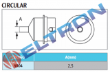 NR04 Bocal Circular 2,5mm para WHA900