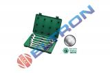 Jogo de Chaves Combinadas com Soquetes Flex ST09037SJ 10 a 19mm Sata