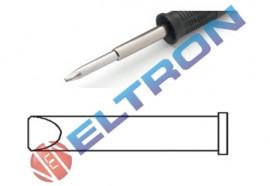 XTEBR Ponta Fenda 5,9mm x 1,2mm para Ferro de Solda WP120 / WXP120