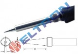 ETF12BR Ponta de Fenda Chanfrada 1,2mm x 0,8mm x 15,9mm para Ferro de Solda TC201TBR/LR21
