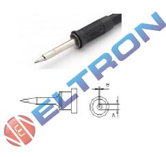 LT1SBR Ponta Redonda (Slim)  ø 0,2mm x 15,0mm para  Ferro de Solda WP / WSP80