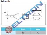 F04 Ponta de Solda Achatada para HAP1/HAP200