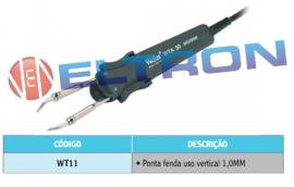WT11 Ponta de Solda para WTA50 Ponta Fenda uso vertical 1,0MM